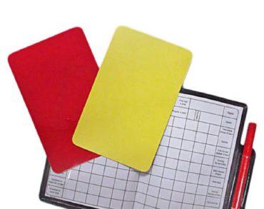 Κίτρινες, κόκκινες, πέναλτι!