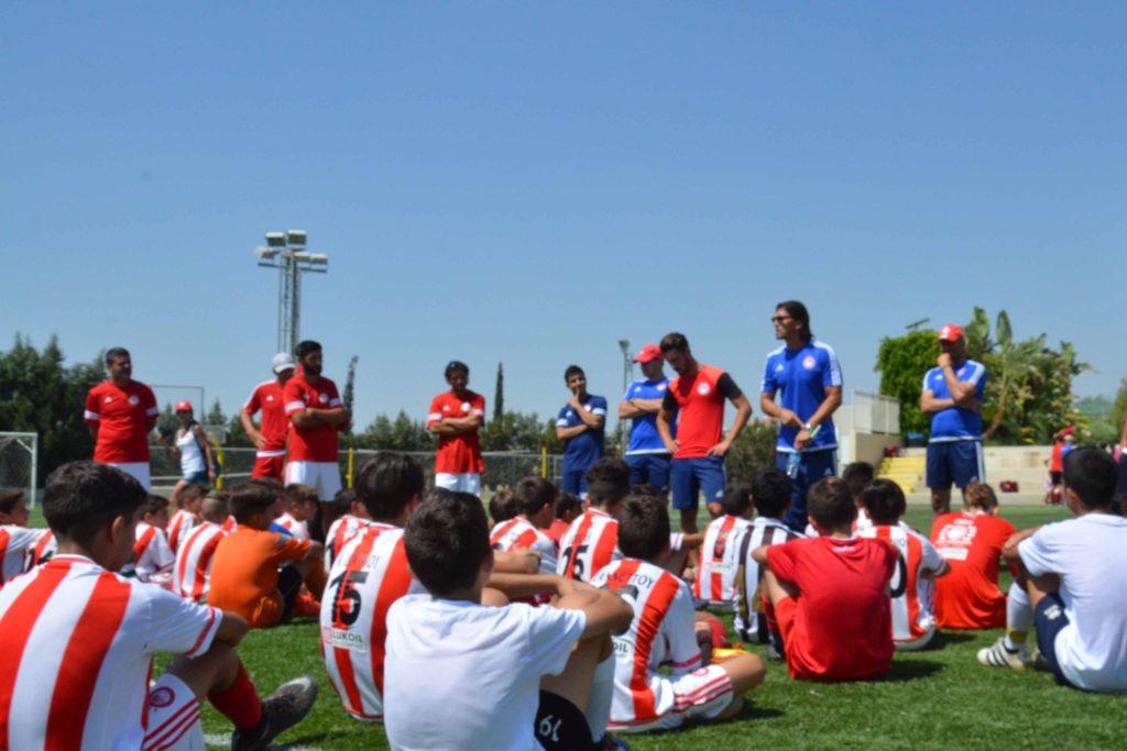 Καμπ του Ολυμπιακού Πειραιώς στην Κύπρο το Σαββατοκύριακο (video)