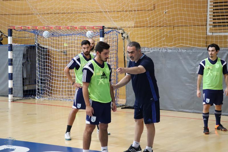 Πρώτη προπόνηση στο Ισραήλ για την Εθνική Futsal