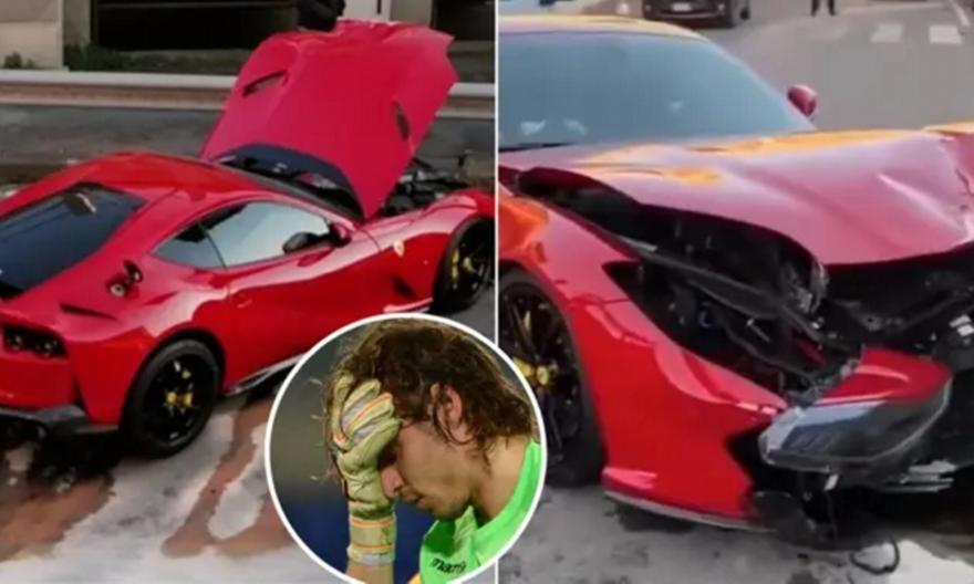 Υπάλληλος πλυντηρίου αυτοκινήτων τράκαρε τη Ferrari του Μαρκέτι! (vid)