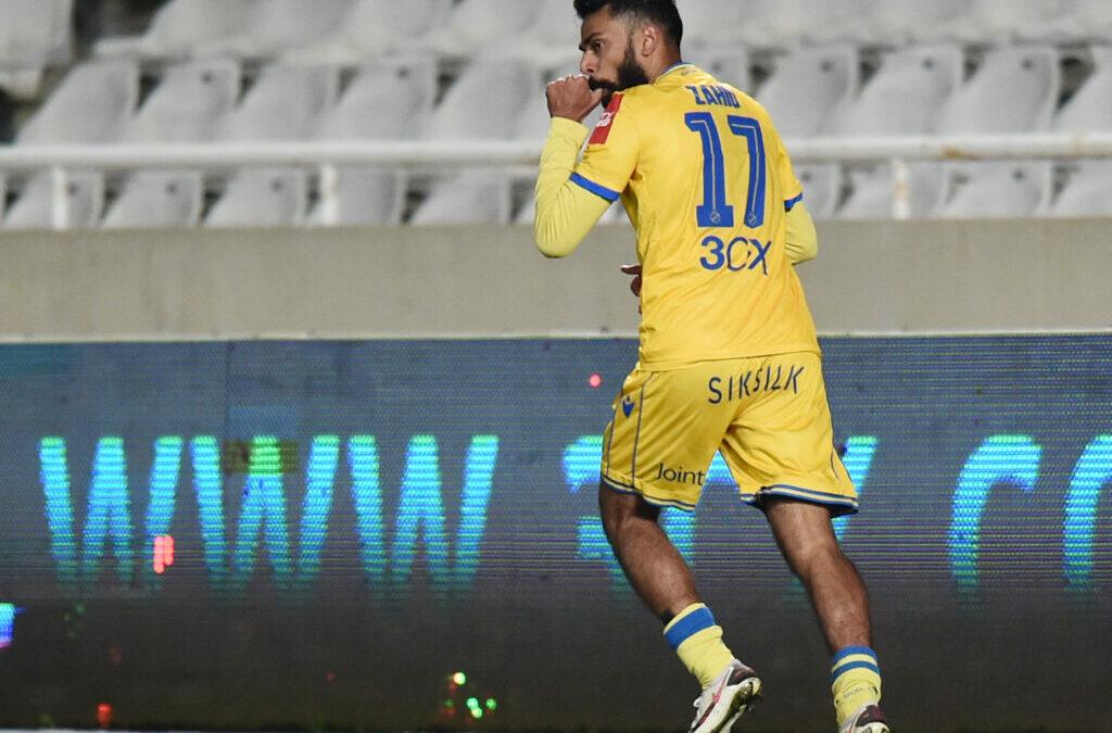 ΒΙΝΤΕΟ: Εφραίμ στον Ζαχίντ και 2-1 το ΑΠΟΕΛ!