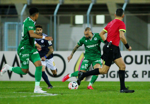 ΕΝΠ-ΟΜΟΝΟΙΑ: «Πράσινη» υπεροχή χωρίς γκολ