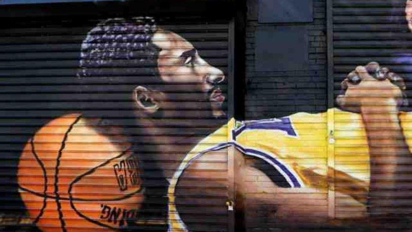 ΝΒΑ: Περισσότερα από 400 γκράφιτι για Κόμπι
