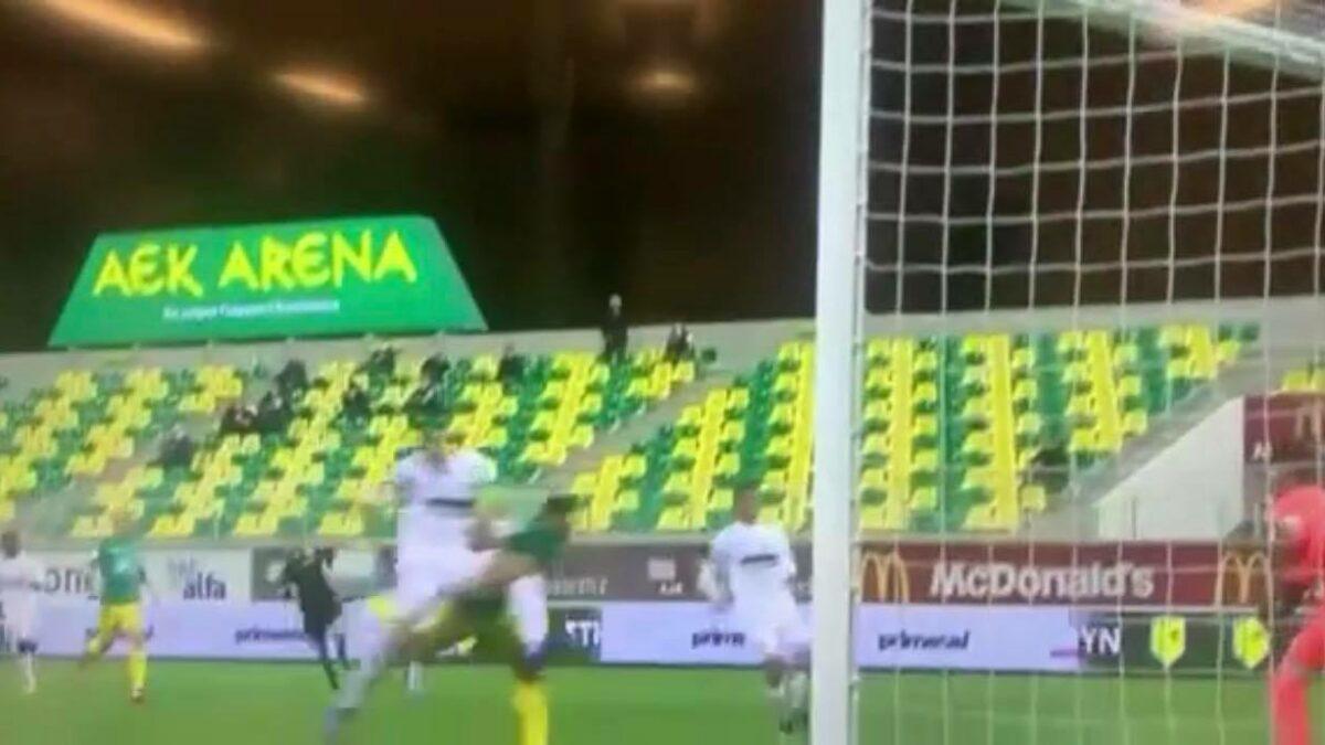 ΒΙΝΤΕΟ: Στην πρώτη φάση κέρδισε πέναλτι η ΑΕΚ…