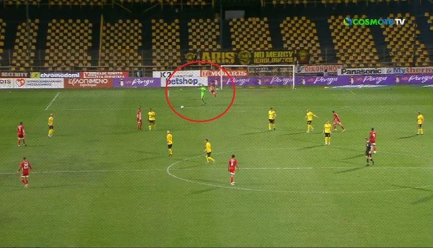 ΑΡΗΣ-ΟΛΥΜΠΙΑΚΟΣ: ΑΠΙΣΤΕΥΤΟ λάθος του Κουέστα και 1-1 ο Μπουχαλάκης!