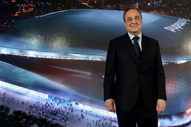 Ο Πέρεθ ανακαίνισε το Μπερναμπέου για να γίνει η «πρωτεύουσα» της European Super League