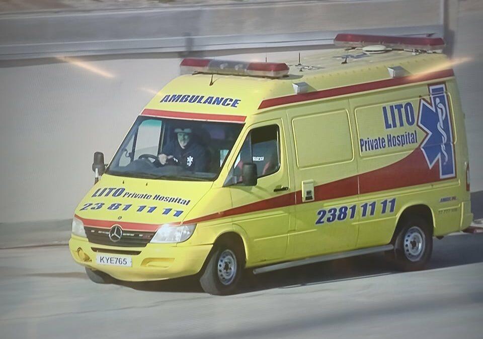 ΜΕ 20 λεπτά καθυστέρηση, έφτασε το ασθενοφόρο (ΒΙΝΤΕΟ)