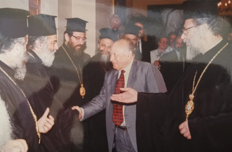Γλ. Κληρίδης και Εκκλησία