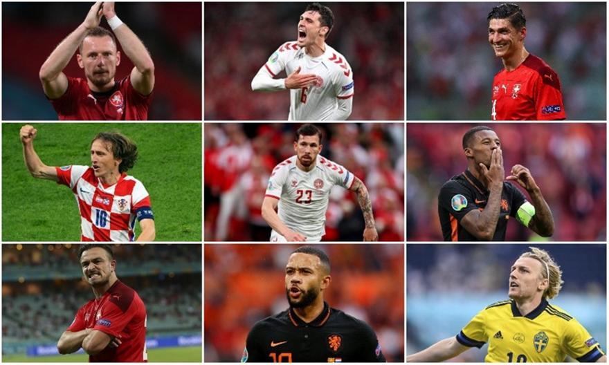 EURO 2020: Η κορυφαία ενδεκάδα της τρίτης αγωνιστικής!