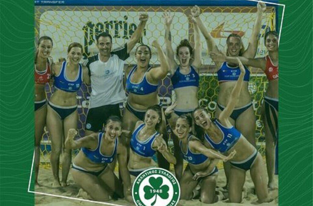 Ομόνοια Χάντμπολ: Στην Αθήνα για το Aspropirgos Beach Handball Tournament (ΦΩΤΟ)