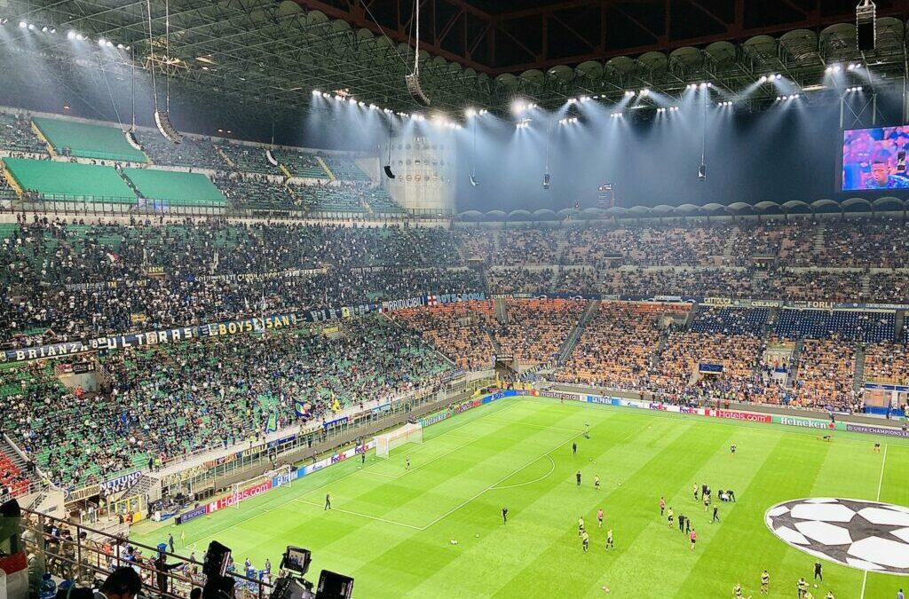ENTYΠΩΣΙΑΚΑ πλάνα από το «Μεάτσα», με τον ύμνο του Champions League! (ΒΙΝΤΕΟ BALLA)