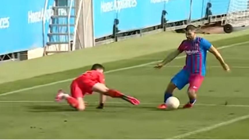 ΜΠΑΡΤΣΕΛΟΝΑ: Ανεπίσημο ντεμπούτο 30 λεπτών και γκολ για Αγουέρο (ΒΙΝΤΕΟ)