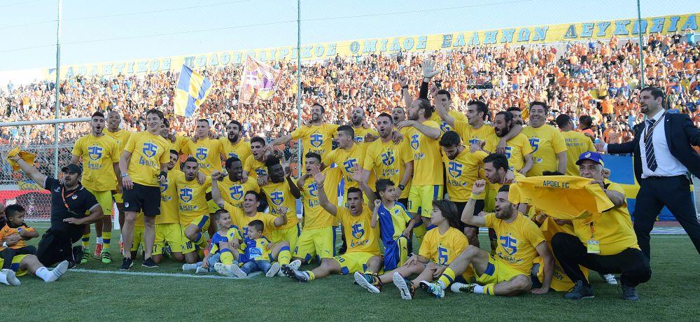 """Πρωταθλητής ο ΑΠΟΕΛ, Ευρώπη η Ομόνοια, """"κόλαση"""" στον πυθμένα (videos)"""